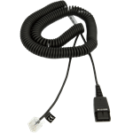 JABRA CORD - QD TO MODULAR RJ EXTENSION COILED CORD FOR SIEMENS OPEN STAGE SERIES
