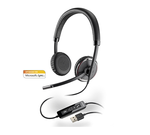 PLANTRONICS BLACKWIRE C520M USB audifonos