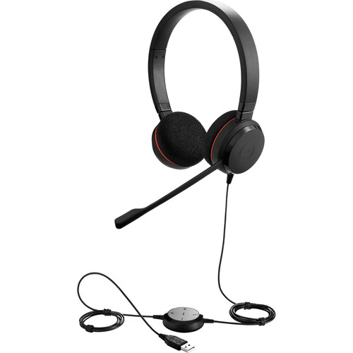 JABRA EVOLVE 20 DUO MS USB audifono