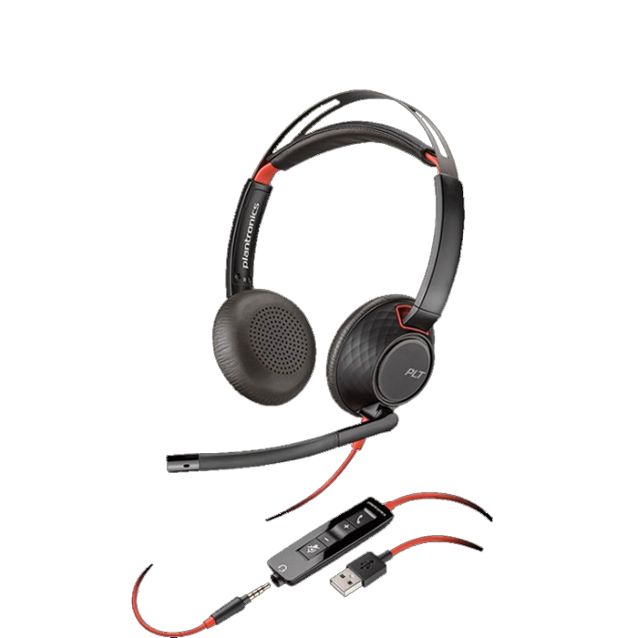 PLANTRONICS BLACKWIRE C5220 USB A audifonos