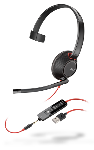 PLANTRONICS BLACKWIRE 5210 USB audifonos cintillo