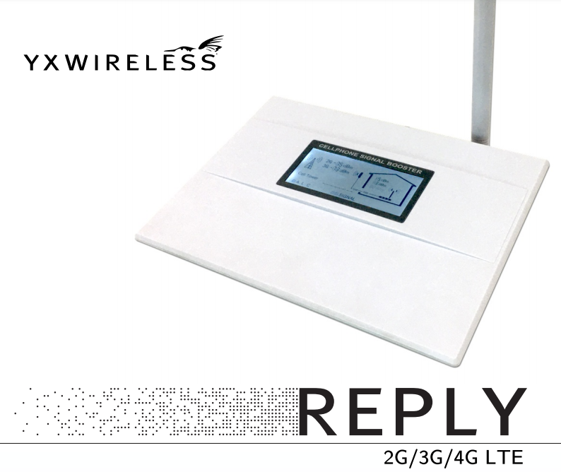 REPLY 4G LTE 3G 2G repetidor celular
