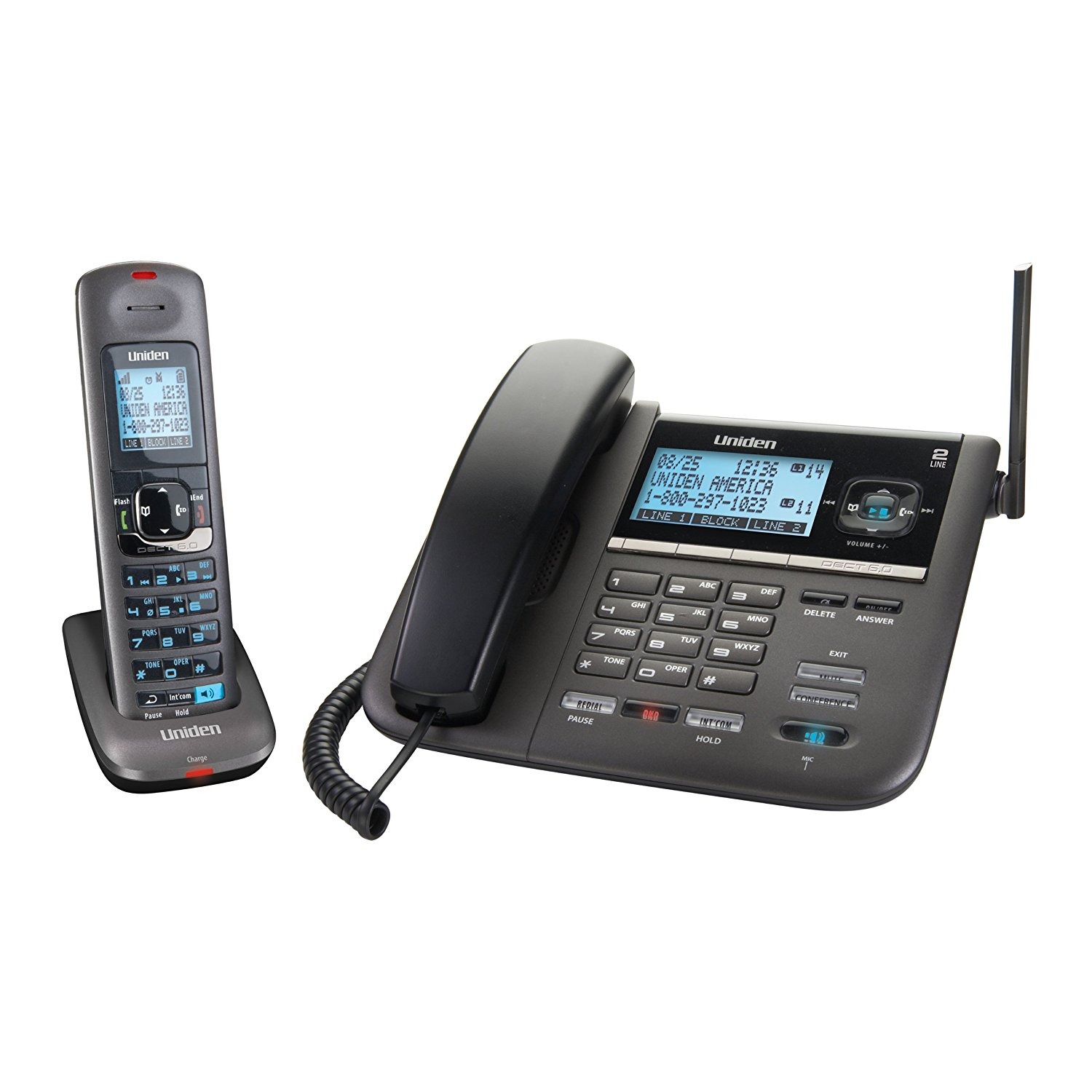 UNIDEN DECT4096 central telefonica inalambrica